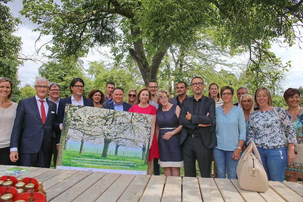 Ondertekening actieplan: behoud historische hoogstamboomgaarden in Haspengouw